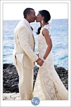 Destination Wedding at @TensingPen in Negril, Jamaica by Corey Ann Photography