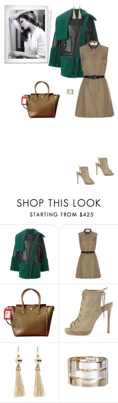 """""""#4161 - Don't Be So Shy"""" by pretty-girl-in-fashion ❤ liked on Polyvore featuring Kenzo, Victoria, Victoria Beckham, Valentino, Aquazzura, Lanvin, kenzo, valentino and victoriabeckham"""