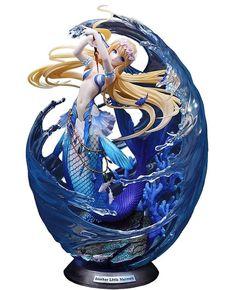 Little Mermaid Statue, The Little Mermaid, Anime Elf, Anime Manga, Anime Mermaid, Statue Tattoo, Anime Figurines, Doll Painting, Merfolk
