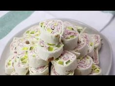 Creamy, crunchy and full of flavor these Pickle Dip Pinwheels are full of cream cheese, sliced ham and diced pickles. The perfect party appetizer. Pinwheel Appetizers, Pinwheel Recipes, Finger Food Appetizers, Yummy Appetizers, Appetizers For Party, Appetizer Recipes, Snack Recipes, Cooking Recipes, Snacks