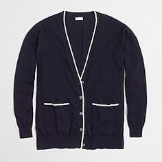 Factory tipped cardigan