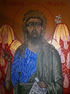 sv. Ján Krstiteľ Icons, Painting, Art, Art Background, Symbols, Painting Art, Kunst, Paintings, Performing Arts