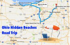 The Hidden Beaches Road Trip That Will Show You Ohio Like Never Before
