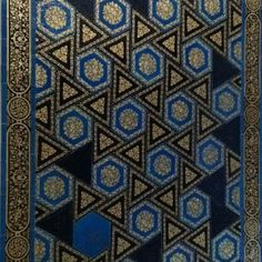 Sultan Ahmed Mosque tile detail.   It's called the Blue Mosque because of the amount of blue tiles used to decorate the interior. It's real name is Sultan Ahmed Mosque. The close-up is actually at the Archaeology Museum in Istanbul.