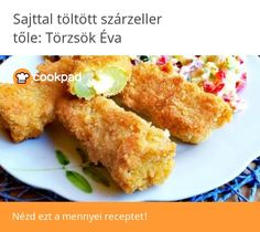 Sajttal töltött szárzeller🥬 French Toast, Appetizers, Breakfast, Food, Morning Coffee, Appetizer, Essen, Meals, Entrees