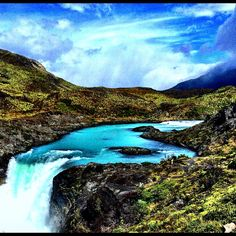 Cascading Waters - Torres del Paine, Patagonia, Chile Patagonia, Chile, Water, Travel, Outdoor, Gripe Water, Outdoors, Viajes, Destinations