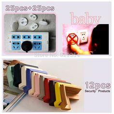 baby safety power cover  50 unidades plugue cobrir 12 produtos segurança pcs canto segurança acidente 62pcs/set o mais útil bebê conjunto conjunto de segurança