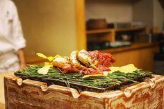 goldenseason#autumn#mapleleaves#gingkotree#michelin#two-star#favorite#kaiseki by xinyulai