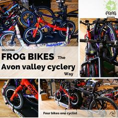 The Avon Valley Cyclery way to deliver Frog bikes!