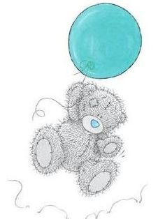 Free Tatty Teddy Blue Balloon phone wallpaper by samanthaord