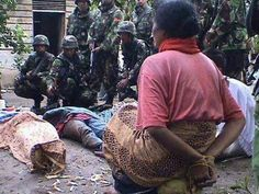West papuan intimidate by Indonesian military