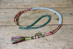 3 itty bitty 108 bead malas all in One! petite mini mala necklace, chalcedony, aventurine, moonstone, peridot, ruby, emerald, sandalwood,