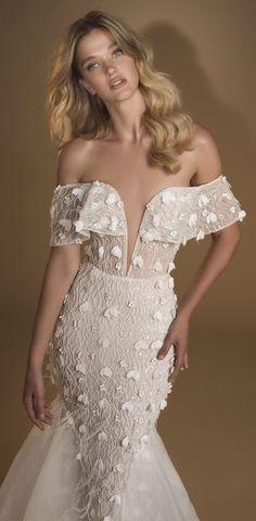 Idan Cohen Wedding Dresses – The Frozen Flower Bridal Collection Elegant Wedding Dress, Designer Wedding Dresses, Evening Dresses, Prom Dresses, Couture, Bridal Collection, Homecoming, That Look, Glamour