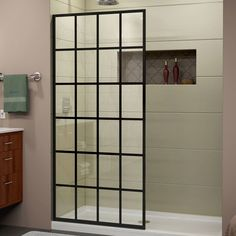 "Linea 72"" x 34"" Frameless Shower Door"