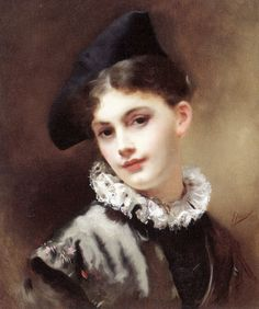 Gustave Jean Jacquet | A Coquettish Smile