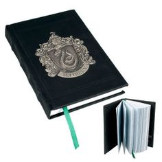 Wizarding World OF Harry Potter Metal Crest Slytherin Journal | eBay