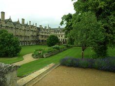 Merton College Oxford garden