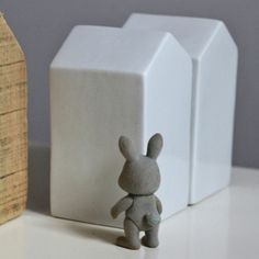Maison déco en porcelaine