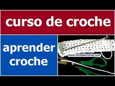 CURSO DE CROCHE AULA 052/081 PADRÃO 2 PARA ARREMATAR OS FIOS