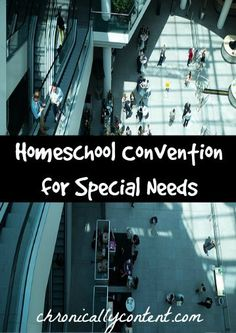 Learn about Special Needs learning at the HEAV Convention & others