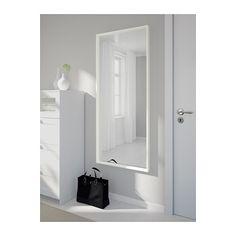 NISSEDAL Mirror - white - IKEA