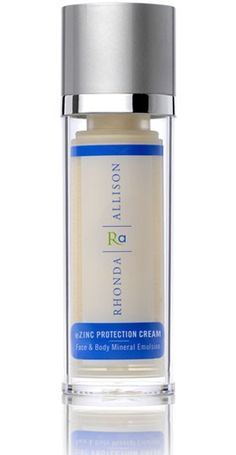 Rhonda Allison eZinc Protection Cream. I use this also and it's amazing!