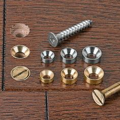 Fastening Wood with Screws 101: If you need to drive a flathead screw into a piece of wood quite close to an endgrain edge, and you just drive it in without pre-drilling and countersinking, you're gonna split it. And even if you do take the time to pre-drill, countersink, and