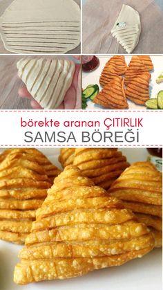 Samsa Böreği Tarifi - Görüntüsü ile dikkatleri üzerine çekecek!! #börek #borek #nefisyemektarifleri #borektarifleri #börektarifleri #recipe #recipes #recipeoftheday