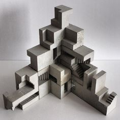 denmark module architecture concrete - Google Search Module Architecture, Conceptual Model Architecture, Concrete Architecture, Interior Architecture, Unique Architecture, Concrete Art, Concrete Design, Cement, Fujimoto Sou
