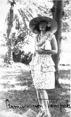 Armine Von Tempski - - Find A Grave Photos Amelia Earhart, Find A Grave, Book Girl, Lace Skirt, Hawaii, Vintage, Books, Photos, Fashion