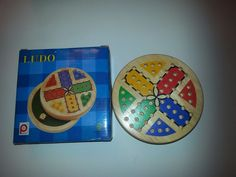 PinToy Classic Wooden #LUDO Game - Great Family Game, Board Game, Dice Game #PinToy