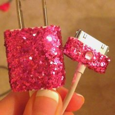 Sparkly charger