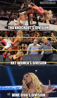 Sad state of women in professional wrestling today.