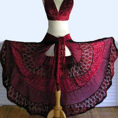 Scarlet's Lounge Gypsy Hip Skirt - $80