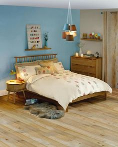 Cosy Skandi Bedroom #scani #bedroom