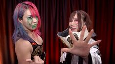 WWE Women's Tag Team Champions Asuka & Kairi Sane select WWE TLC featuring their Tables, Ladders & Chairs Match against Raw Women's Champion Becky Lynch & Charlotte Flair, as their WWE Network Pick of the Week Wrestling Divas, Wrestling News, Wwe Live Events, Peyton Royce, Alexandra Stan, Shayna Baszler, Raw Women's Champion, Charlotte Flair, Becky Lynch