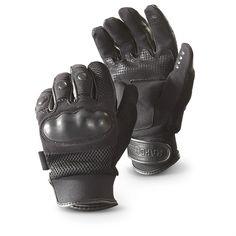 Rapid Dominance T10 Hard Knuckle Pro Tactical Gloves, Black