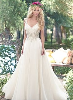 MAGGIE SOTTERO SHELBY wedding dress from Morgan Davies Bridal