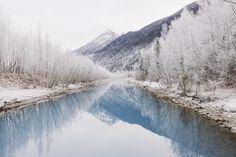 Winter in Alaska - null