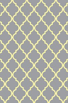 Quatrefoil Wallpaper For Iphone Ipad Light Gray With Yellow Aqua Pink Or White Each Color Is Available And