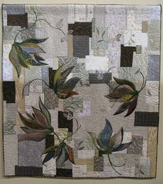 Vines of Life by Ueno; 2013 Tokyo International Quilt Festival.  Photo by Julie Fukuda at My Quilt Diary