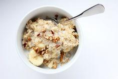 Gesund und vollwertig frühstücken im Büro.