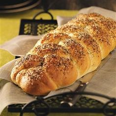 Everything Bread Recipe -I love to make bread from scratch and this has become one of our tried and true favorites to serve with any meal, casual or formal. —Traci Wynne, Denver, Pennsylvania