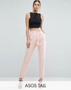 22 Ideas De Pantalon Con Lazo Pantalon Con Lazo Pantalones Ropa