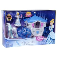 Disney Princess Cinderella Wedding Carriage Set by Mattel Cinderella Doll, Disney Princess Cinderella, Cinderella Wedding, Mattel Shop, Wedding Carriage, Disney And More, Child Doll, Fashion Dolls, Fairy Tales