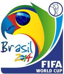 One of the logos of the FIFA WorlCup 2014 in Brasil