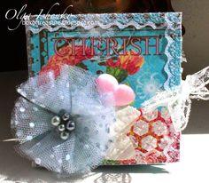 Box of treasure: Cute picture mini picture folder