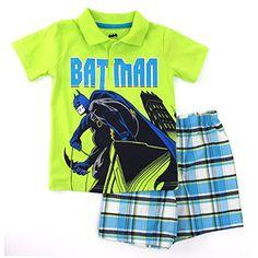 Batman Boys Polo Top T-Shirt Shorts Set (4) DC Comics http://www.amazon.com/dp/B00SLIF6EI/ref=cm_sw_r_pi_dp_R3sYub1ZYK601