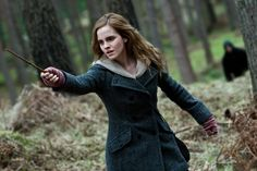 Hermione Granger ~ Protecting Harry with the Jinx Spell ~ (Emma Watson) ~ Harry Potter and the Deathly Hallows Hermione Granger, Severus Hermione, Bellatrix, Albus Dumbledore, Harry Potter Quotes, Harry Potter Characters, Harry Potter World, Fictional Characters, Lord Voldemort