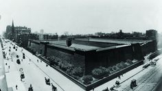 Before there was a library, there was the Croton Distributing Reservoir. Photo by New York Public Library.
